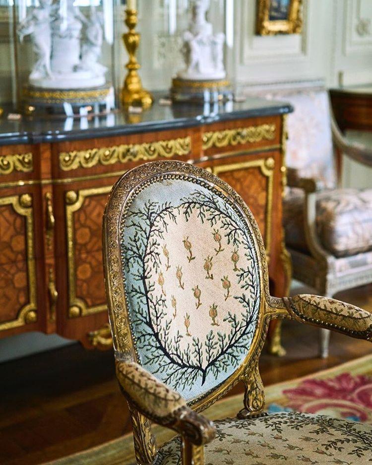 Dtail au muse Nissim de Camondo lesartsdecoratifs passionchateau