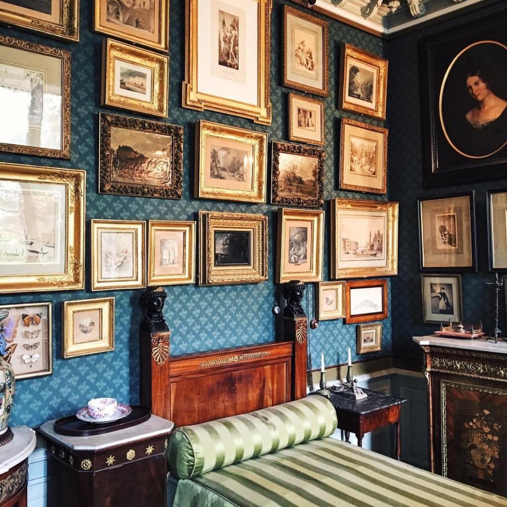 La chambre de Gustave Moreau