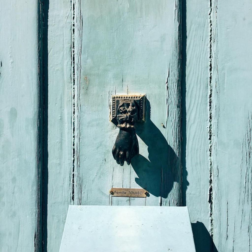 Jolie porte de Talmont