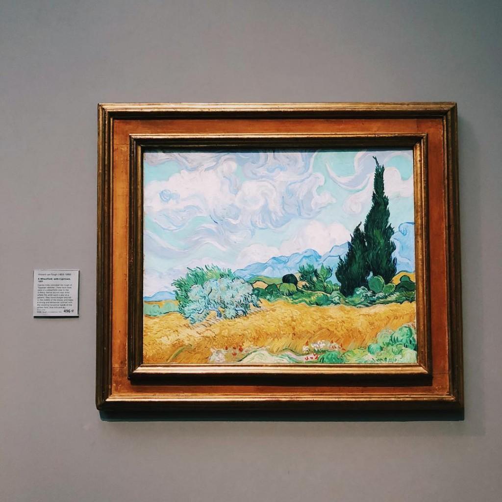 Un Van Gogh  la nationalgallery